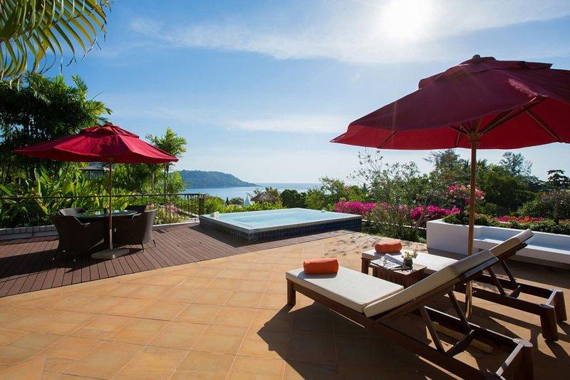 Luxury seaview penthouse | KG6C, casa vacanza a Kata Noi Beach