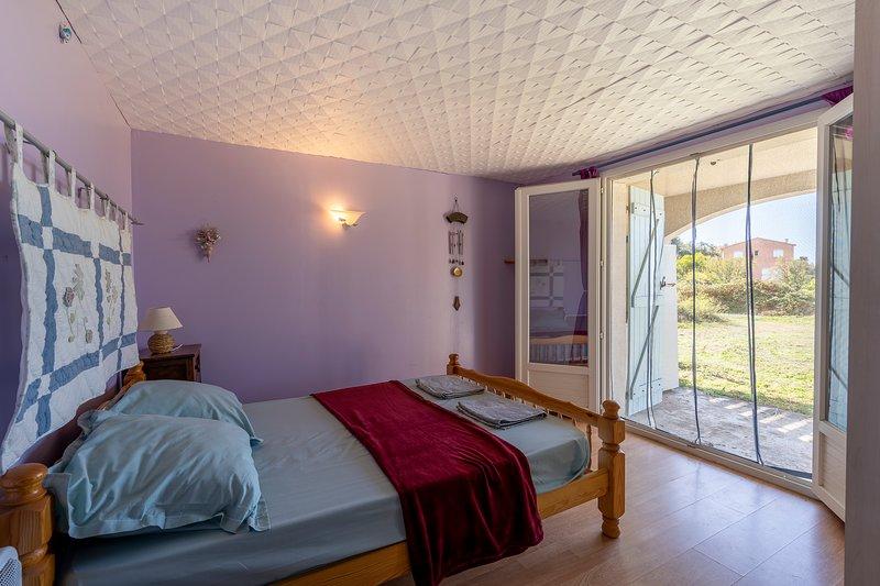 Grande villa sur le golfe, location de vacances à Valle-di-Mezzana