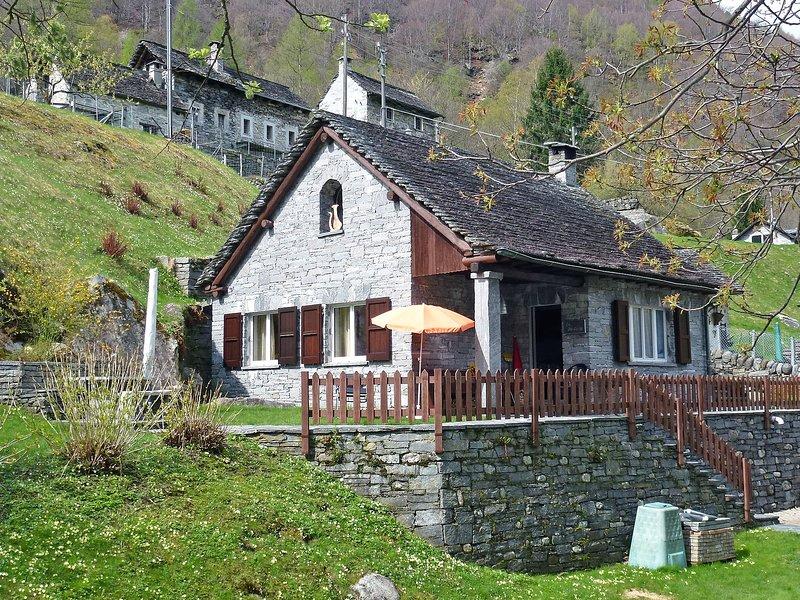Casa la Rustica, location de vacances à Cevio