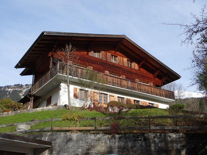 Steirösli 1. & 2. Stock, vacation rental in Lenk im Simmental
