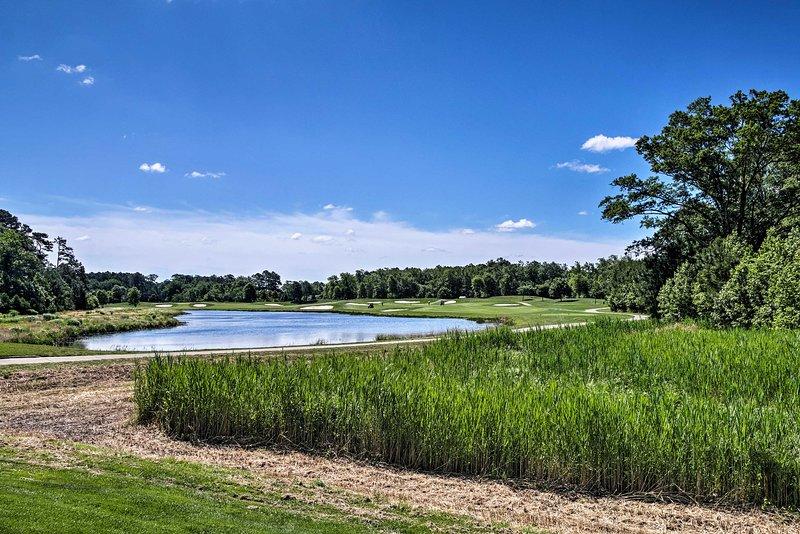 No olvide sus palos: ¡le espera un campo de golf Jack Nicklaus Signature!