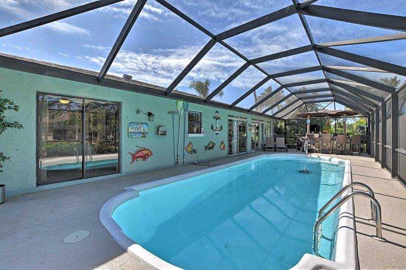 Bem-vindo a esta magnífica casa de férias em Bonita Springs!