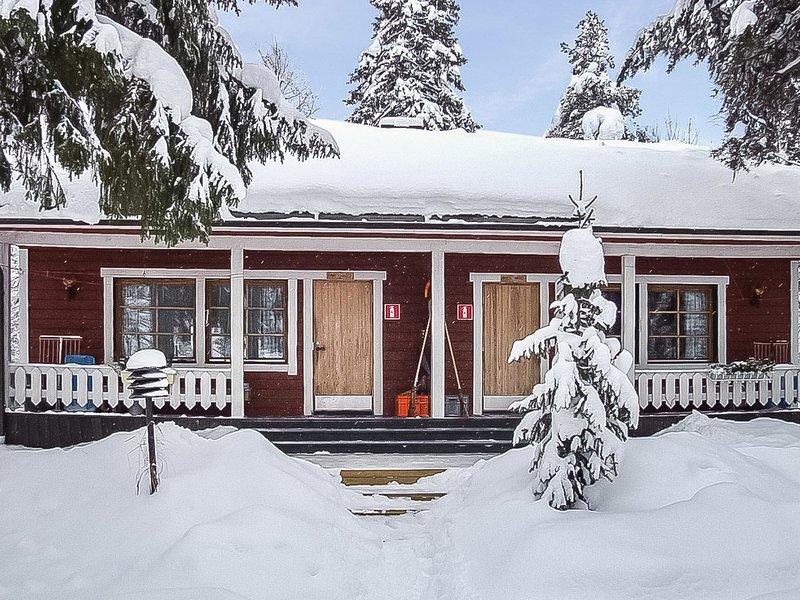 Kitkajoen lomatuvat, lohi, location de vacances à Vallioniemi