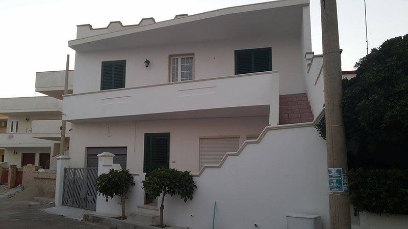 Appartamento a pochi passi dal mare con nelle vicinanze Bar,Pizzeria,Edicola,, holiday rental in Torre San Giovanni
