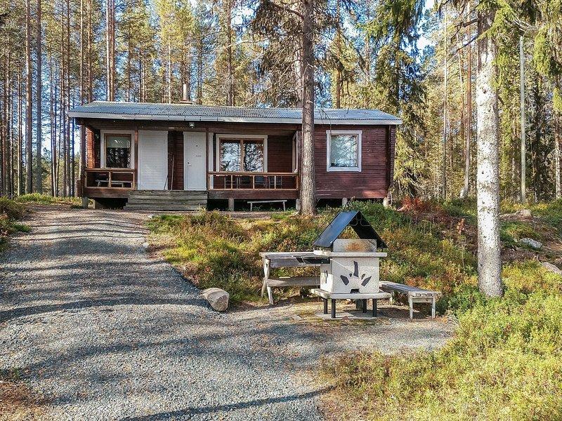 Ylikitkajärvi, kesäkumpu, location de vacances à Vallioniemi