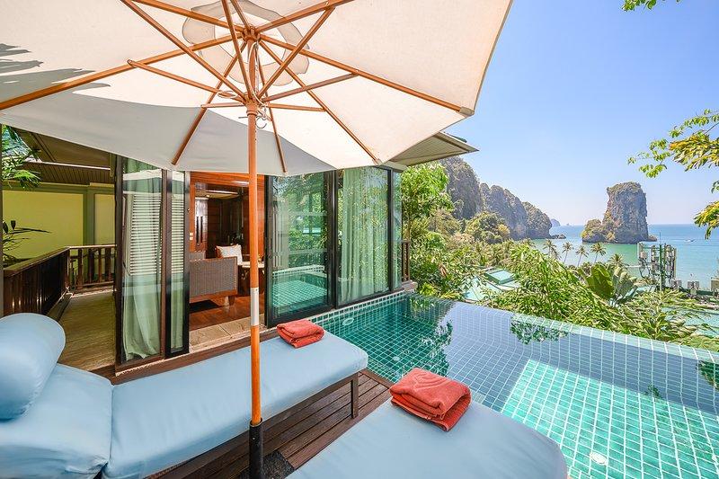 Railay Beach Villa Sleeps 3 with Pool and Air Con - 5821653, vacation rental in Railay Beach