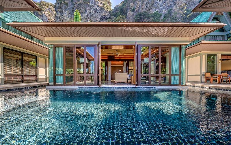 Railay Beach Villa Sleeps 6 with Pool - 5821654, vacation rental in Railay Beach
