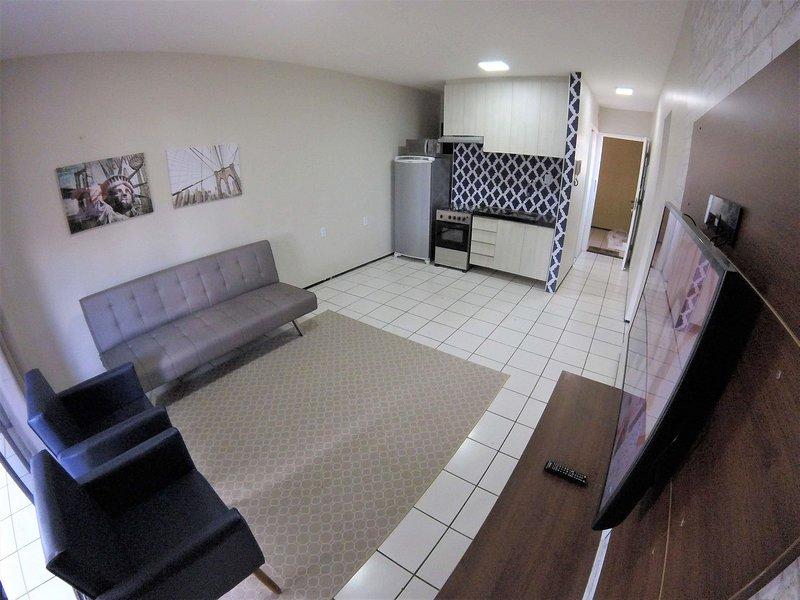 Lindo apartamento condominio beira mar, casa vacanza a Fortaleza