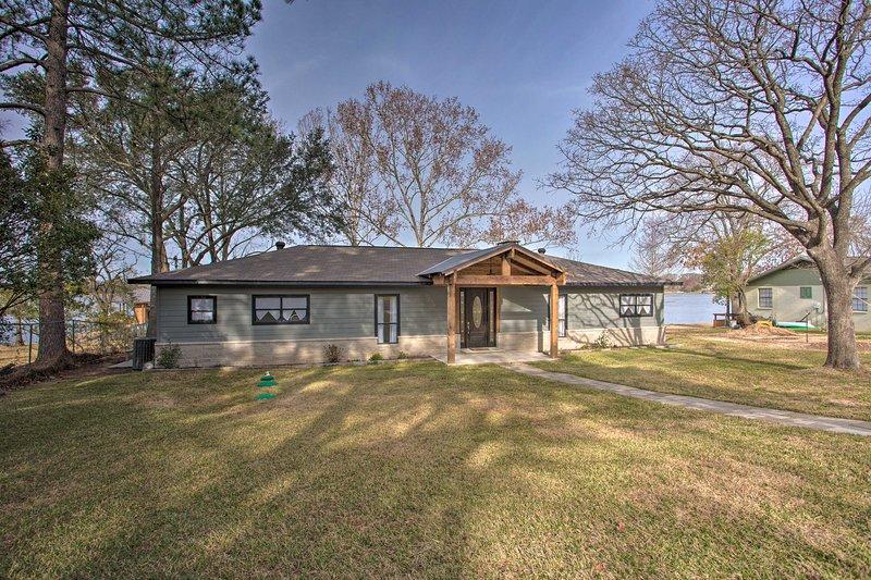 Questa casa di Malakoff è il luogo perfetto per un'avventura sul lago!