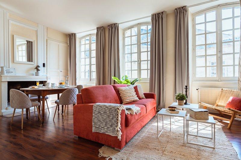 Bel appartement au centre historique, location de vacances à Bègles