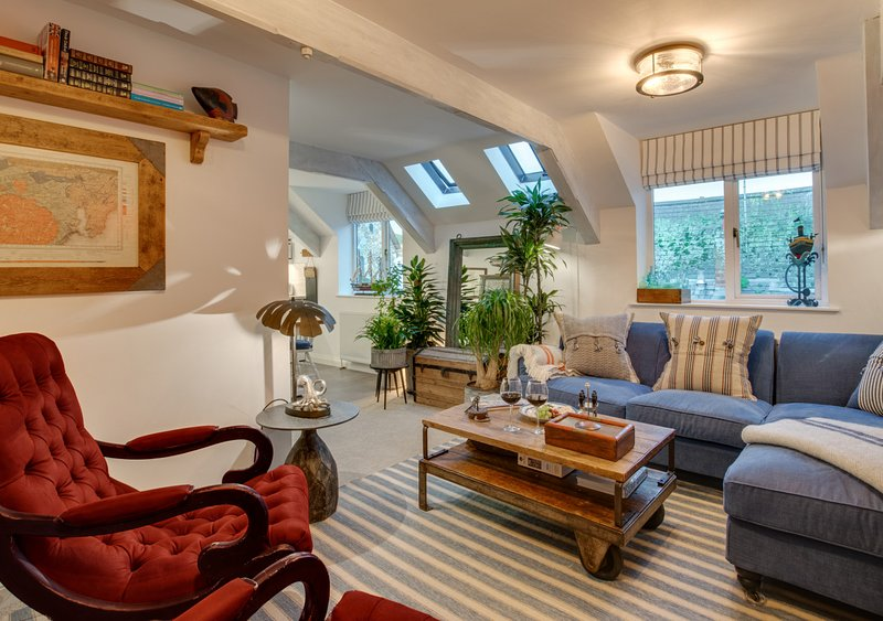 The Salt Loft, holiday rental in Fowey
