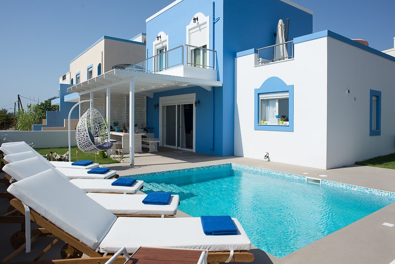 Masticharion Villa Sleeps 8 with Pool and Air Con - 5823552, holiday rental in Mandraki
