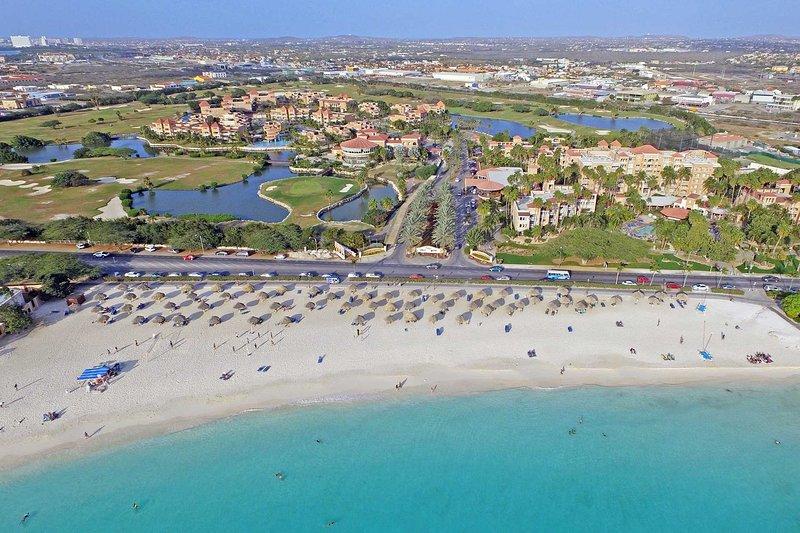 Divi Village Golf & Beach Resort, just steps away from Divi Beach