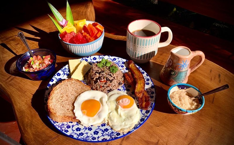 Our delicious homemade breakfasts at the Early Bird Café