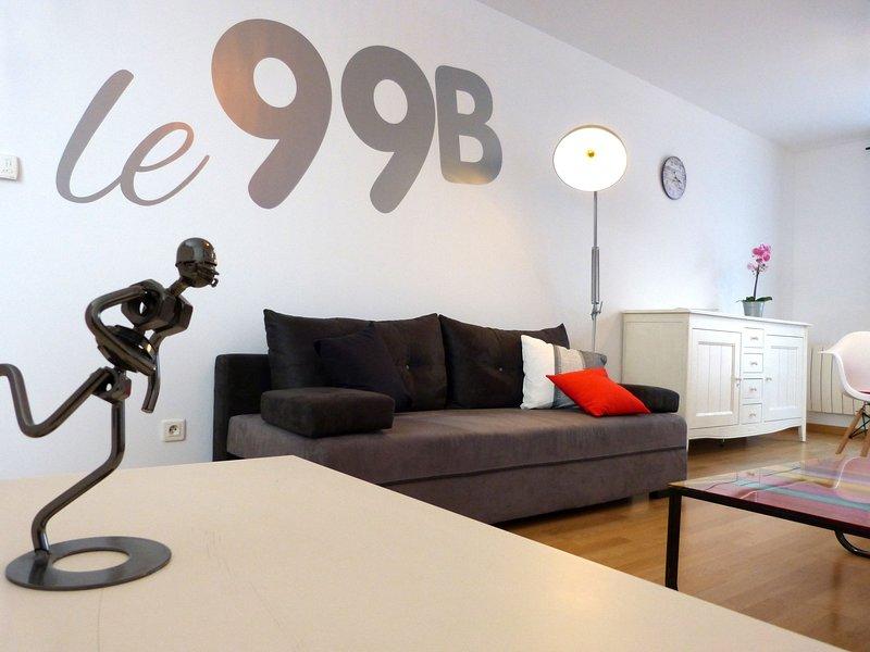 'le 99B' appartement, chaleureux, confortable et au calme  aux portes de Lille, holiday rental in Courrieres