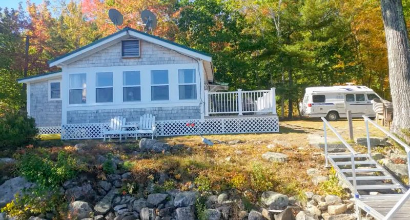 Lake St. George, Liberty Maine, Private Shorefront, casa vacanza a Liberty
