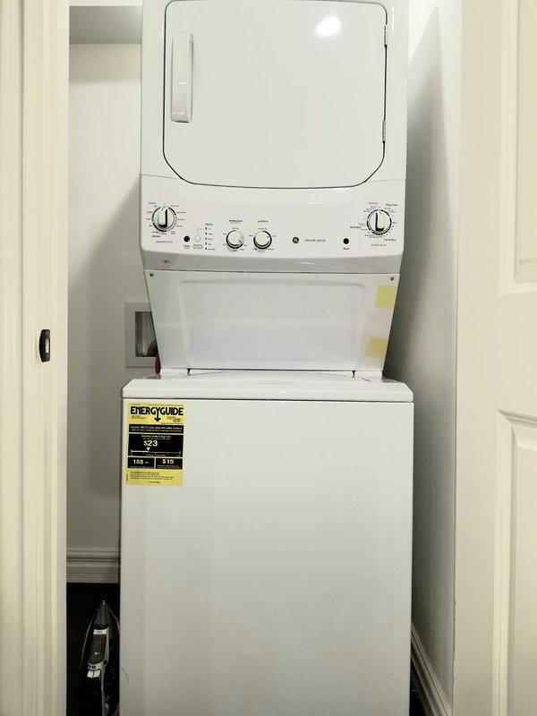 Washer/Dryer/Iron