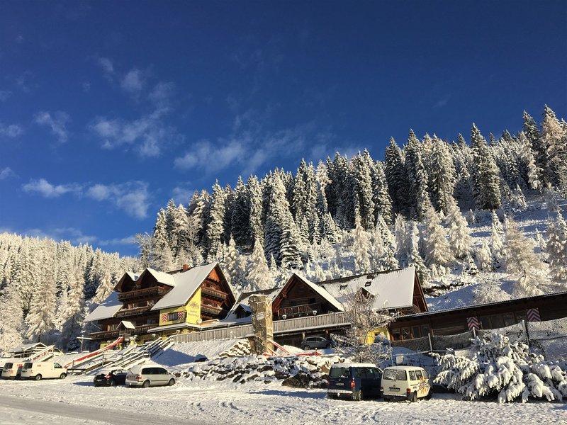 Panoramahütte, location de vacances à Hirschegg Rein