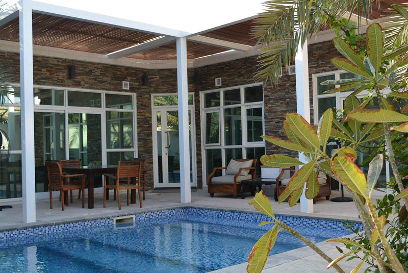 Pool Offers Complete Privacy