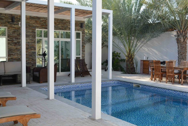 Dar 66 Chalet 3 BR with Private Pool, holiday rental in Emirate of Ras Al Khaimah