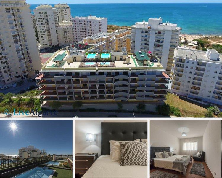 Ocean`s Terrace Apartment, aluguéis de temporada em Armação de Pêra