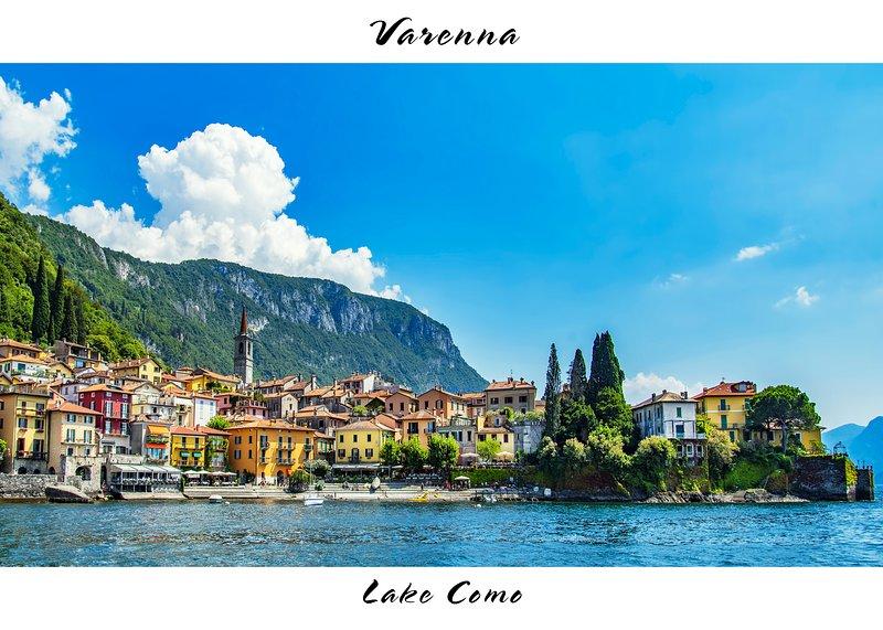 VILLA  CENTRAL  VARENNA, alquiler de vacaciones en Varenna
