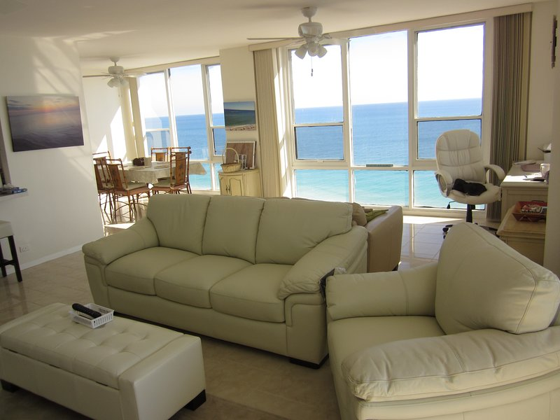 Spacious and clean all ocean front