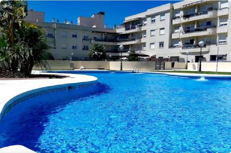 Apartamento con piscina comunitaria, vacation rental in San Fernando