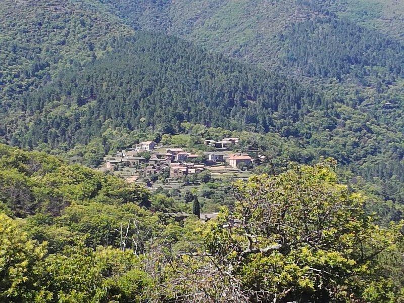 Le hameau vu de Malbosc