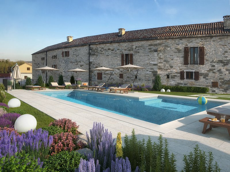 ★★★ Aquileia Residence - 'Your Personal Oasis' ★★★, holiday rental in Vizintini Vrhi