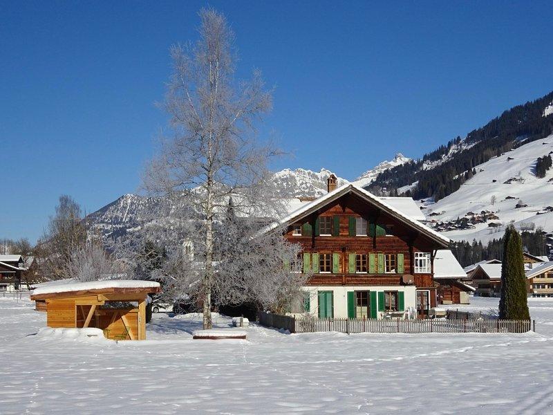 Lischenhaus - Strubel, vacation rental in Lenk im Simmental