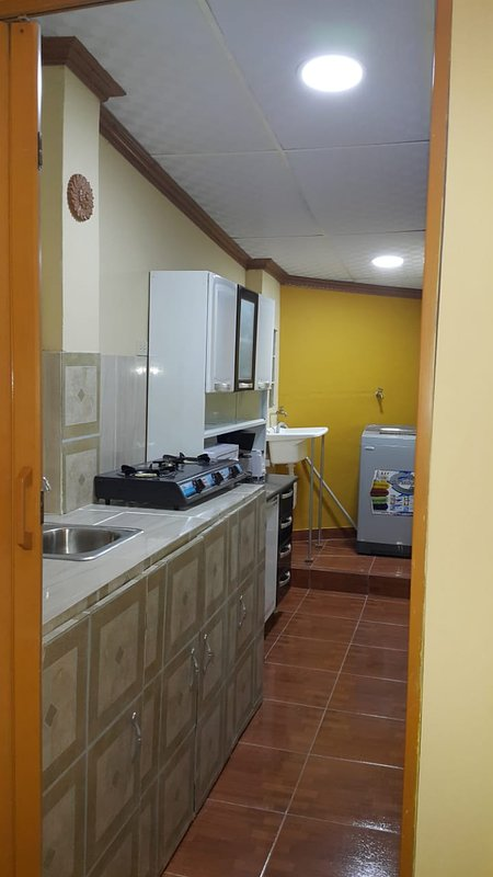 Fully Equipped Kitchen, Includes Washing Machine