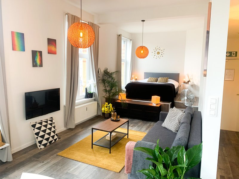 Supercosy Apartment Antwerp Theaterplein with view – semesterbostad i Antwerpen