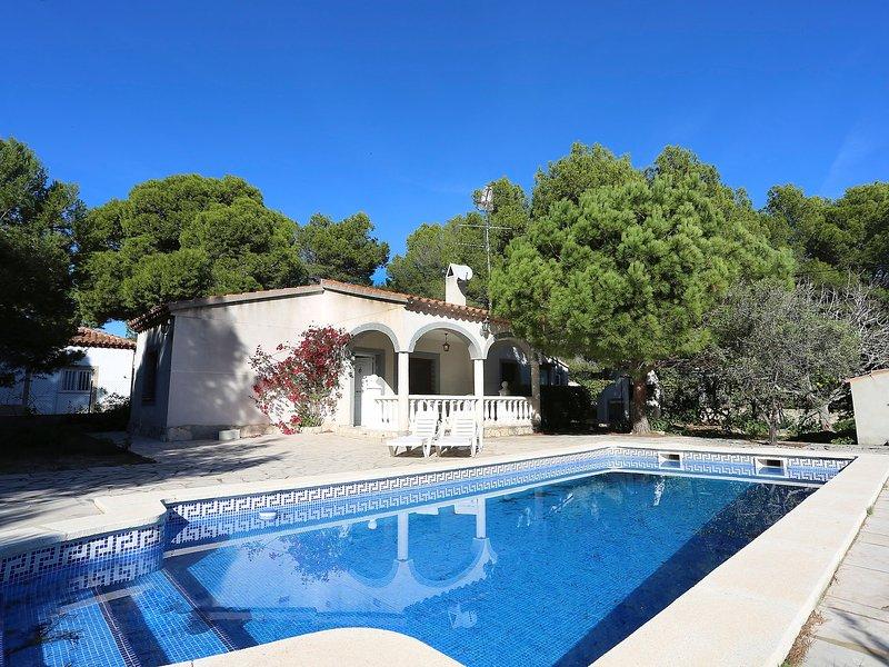 Villa Nido, holiday rental in Miravet