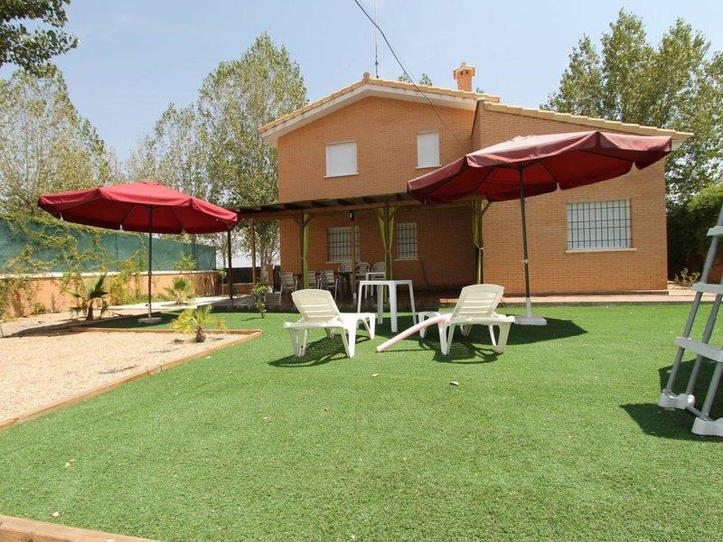 CASA BALCON DEL JARAMA, vacation rental in Sesena Nuevo