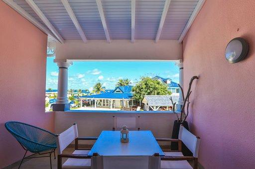 Magnifique appartement vue mer, vakantiewoning in Marigot