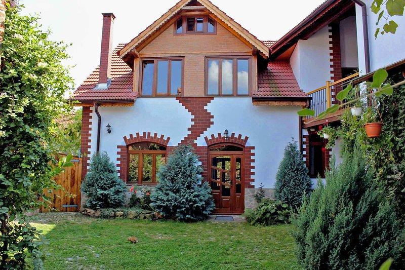 Casa Crina • vacation rental at the foot of the Carpathians near Sibiu, Transylvania, Romania