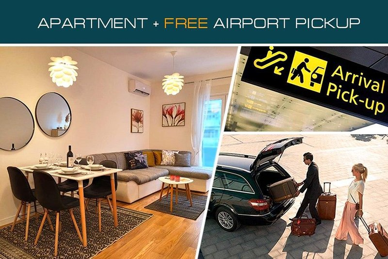 Atlas Apartments PG + Free Airport transports, vacation rental in Podgorica Municipality