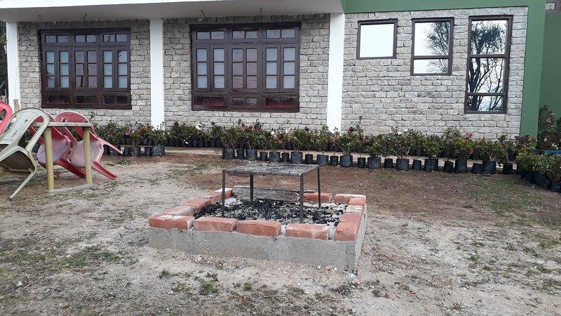 Bonfire & Barbaque area