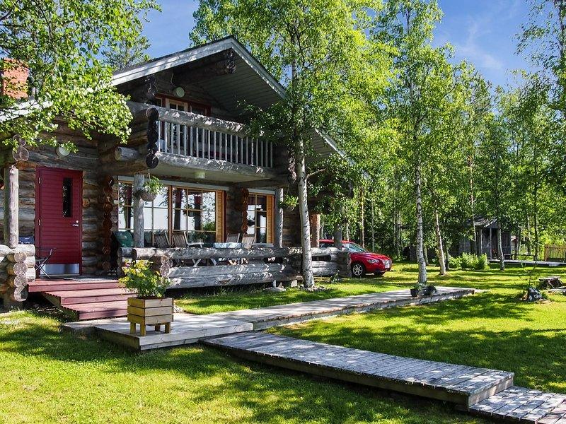 Alakitkajärvi, takkusalmi, location de vacances à Vallioniemi