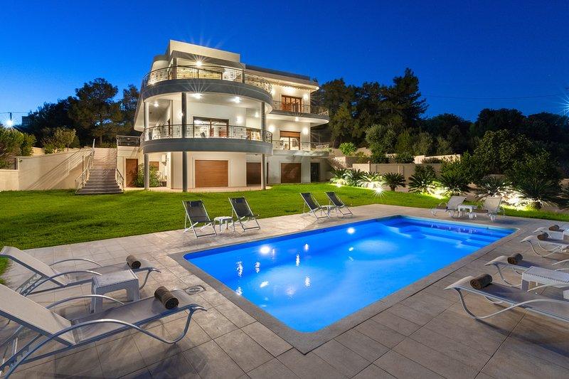 Amaltheia Villa, holiday rental in Koskinou