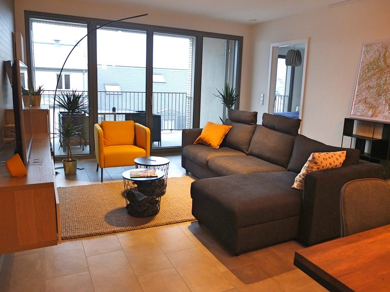 Charming Flat, Patio and Free Parking, holiday rental in Esch-sur-Alzette