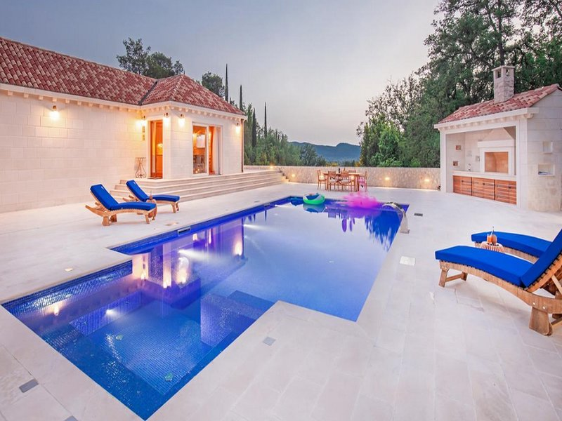 Villa Doline  -  Two-Bedroom Villa with Pool and Playground, vacation rental in Ljuta