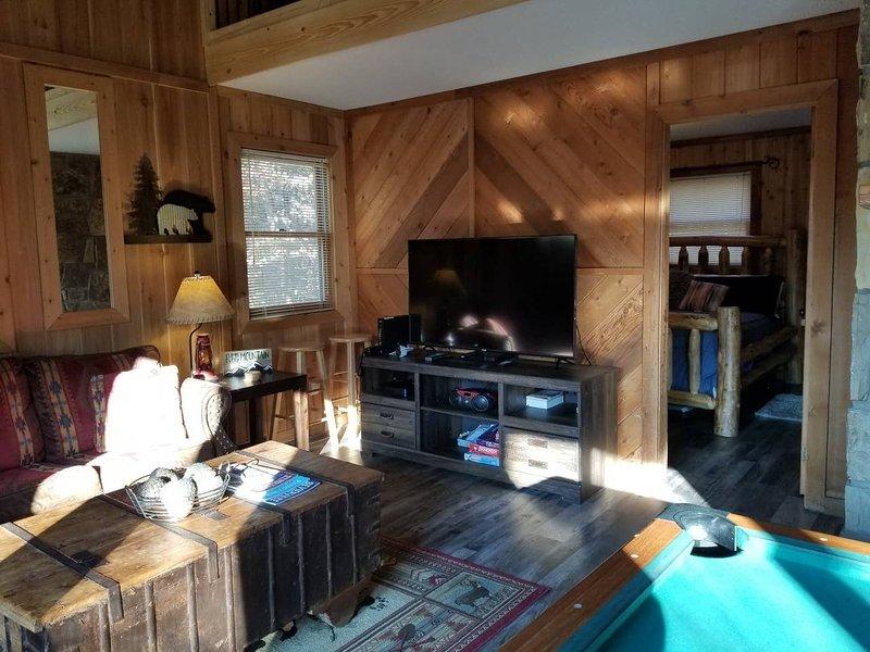 Mobili, divano, interni, soggiorno, camera
