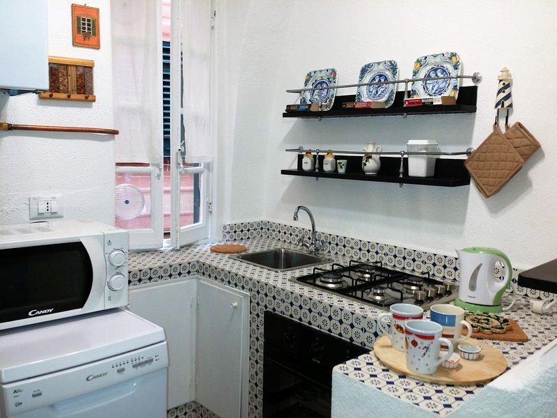 Loretta 1B, holiday rental in Camogli