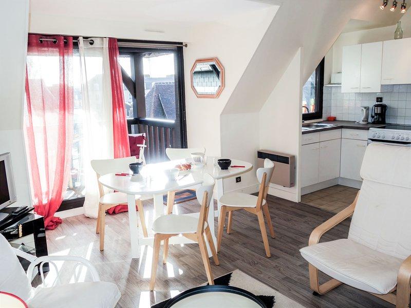 Les Jardins du Yacht Club, alquiler vacacional en Deauville