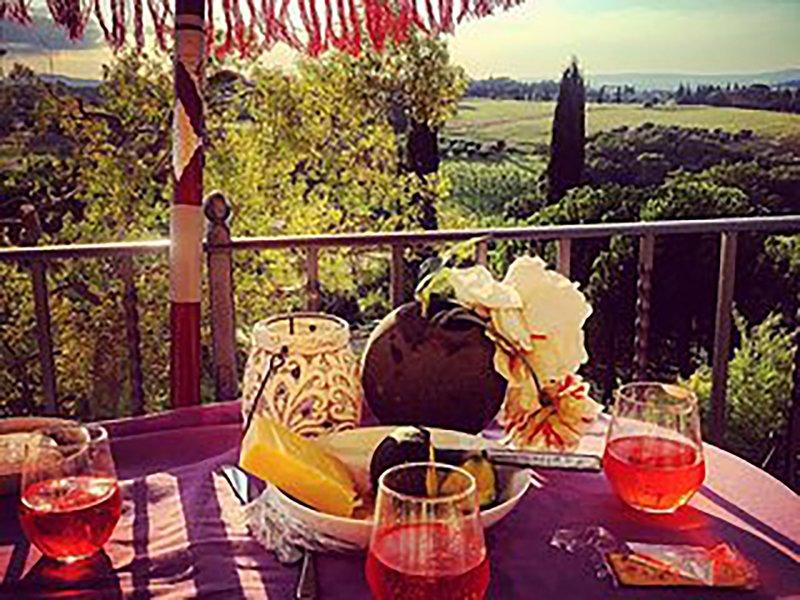 Spectaculair uitzicht vanaf Casa Gioiella