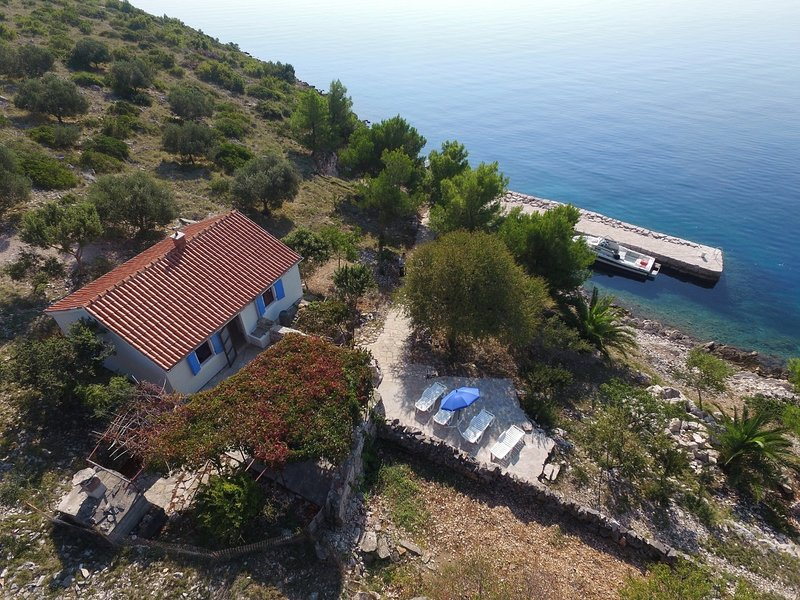 Mar - relaxing vacation: H(6) - Island Kornat - Croatia, casa vacanza a Kornat Island