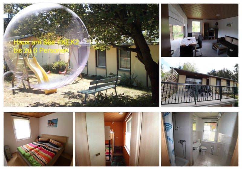 Haus am See - KEK 2, location de vacances à Oppurg