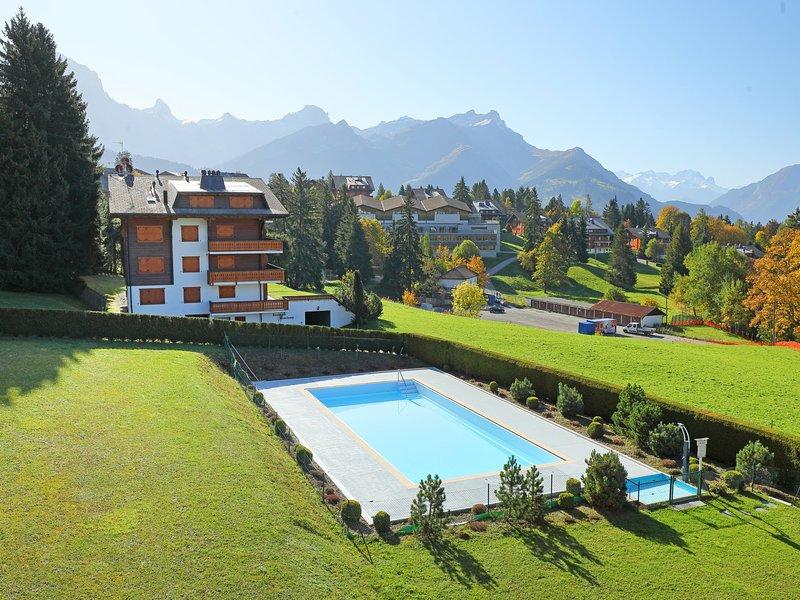 Residence du Golf B18, casa vacanza a Villars-sur-Ollon